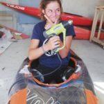 calage laurine salesse kayak
